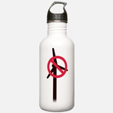 No Turbines Stainless Water Bottle 1.0l