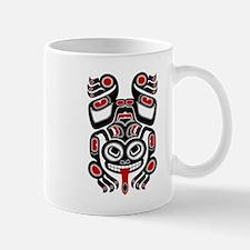 Red and Black Haida Tree Frog Mugs