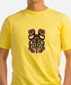 Red and Black Haida Tree Frog T-Shirt