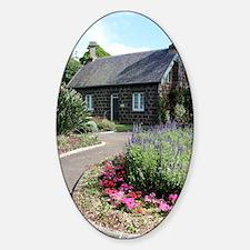 Bluestone Cottage with English Gard Decal