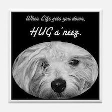 HUG a'neez Tile Coaster