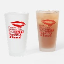 cancer kiss butt Drinking Glass