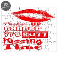 Pucker Up Cancer! Puzzle