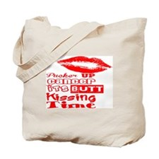 Pucker Up Cancer! Tote Bag