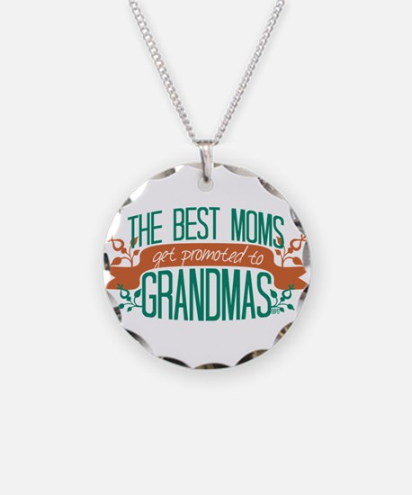 Promoted to Grandma Necklace