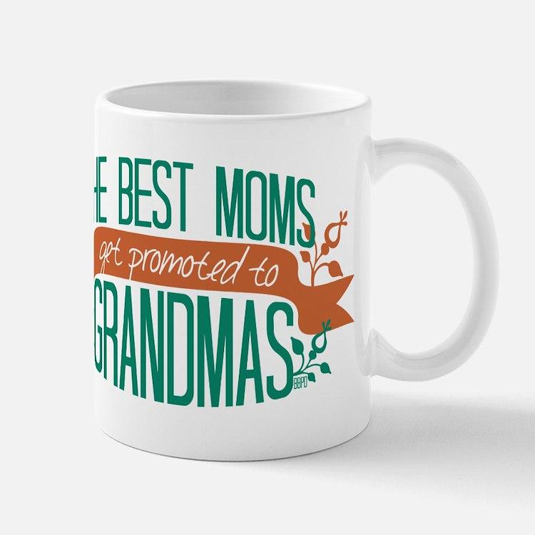 Promoted to Grandma Mugs