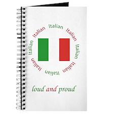 Italian, loud and proud! Journal