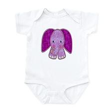 Purple Elephant Infant Bodysuit