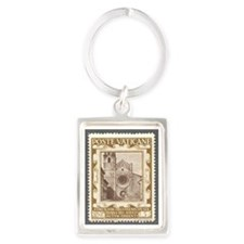 Cathedral St. Vigillo in Trent Portrait Keychain