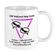 GLBT National Help Center Mugs