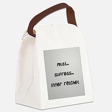 ratchet... Canvas Lunch Bag