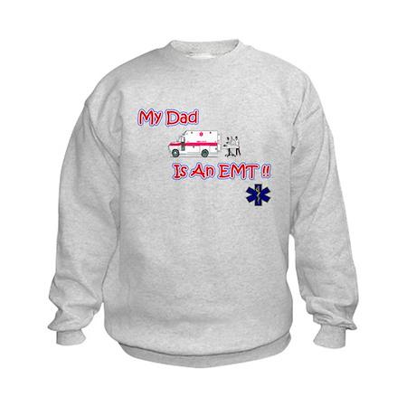 My Dad Is An EMT Kids Sweatshirt