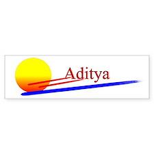 Aditya Bumper Bumper Sticker