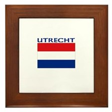 Utrecht, Netherlands Framed Tile