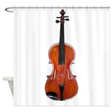 ViolaAlone.png Shower Curtain