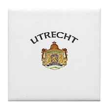 Utrecht, Netherlands Tile Coaster