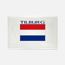 Tilburg, Netherlands Rectangle Magnet