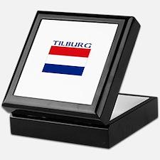 Tilburg, Netherlands Keepsake Box