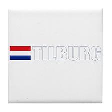 Tilburg, Netherlands Tile Coaster
