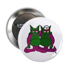 Grease Gremlins Button
