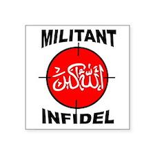 MILITANT Sticker