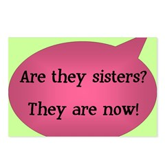 Are they sisters? Postcards (Package of 8)