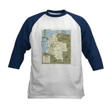 Politic map Colombia Tee