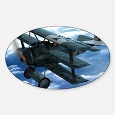 Triplane Sticker (Oval)
