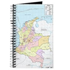 Colombia mapa official Journal