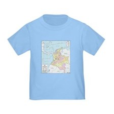 Colombia mapa official T