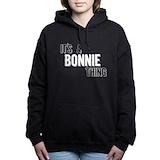 Its a bonnie thing Women's hooded sweatshirt