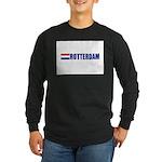 Rotterdam, Netherlands Long Sleeve Dark T-Shirt