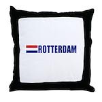 Rotterdam, Netherlands Throw Pillow