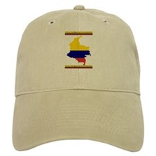 Map Colombia es pasion Baseball Cap