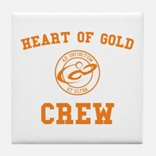 heart of gold crew hitchhiker's guide Tile Coaster