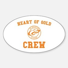 heart of gold crew hitchhiker's guide Decal