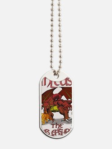 Unleash The Dragon Dog Tags