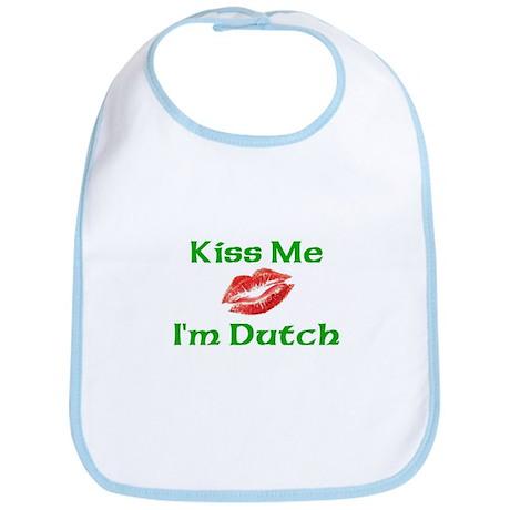Kiss Me I'm Dutch Bib