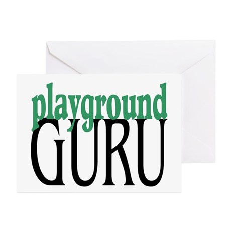 Playground Guru Greeting Cards (Pk of 10)