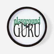 Playground Guru Wall Clock