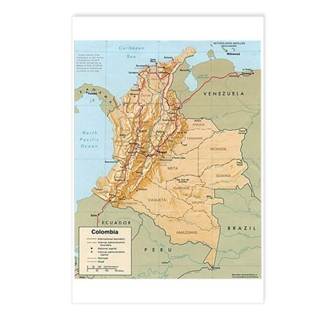 Macizo Colombiano Postcards (Package of 8)