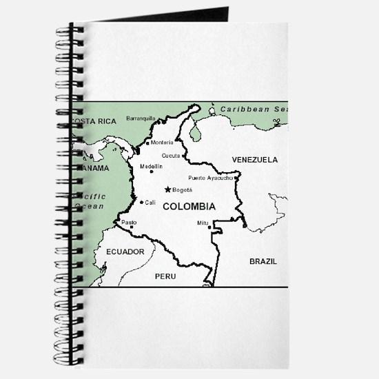 Mapa de Colombia Journal