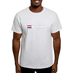 Holland Flag II (Dark) T-Shirt