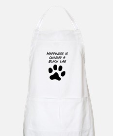 Happiness Is Owning A Black Lab Apron