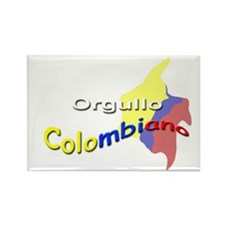 Colombian pride Rectangle Magnet