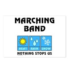 Marching Band Postcards (Package of 8)