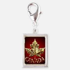 Gold Canada Souvenir Charms