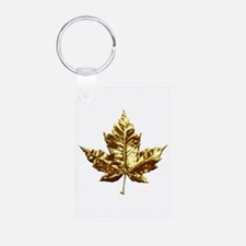 Gold Canada Souvenir Keychains