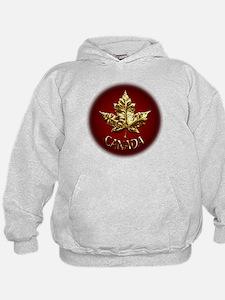 Gold Canada Souvenir Hoodie