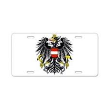 Austria Coat of Arms Aluminum License Plate